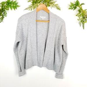 🌼MISS SELFRIDGE grey open knit cardigan sz 2-4